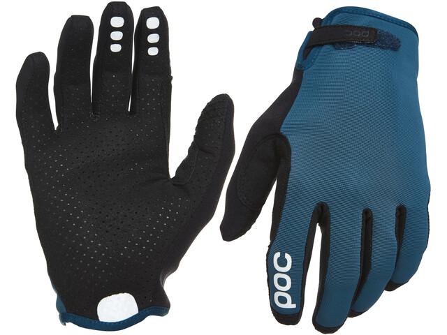 POC Resistance Enduro Gloves Adjustable, draconis blue